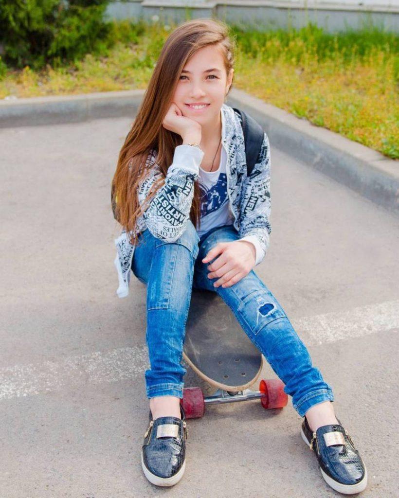 Бурменская Виктория (13 лет)